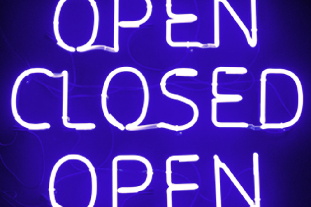 Closed Friday, June 12