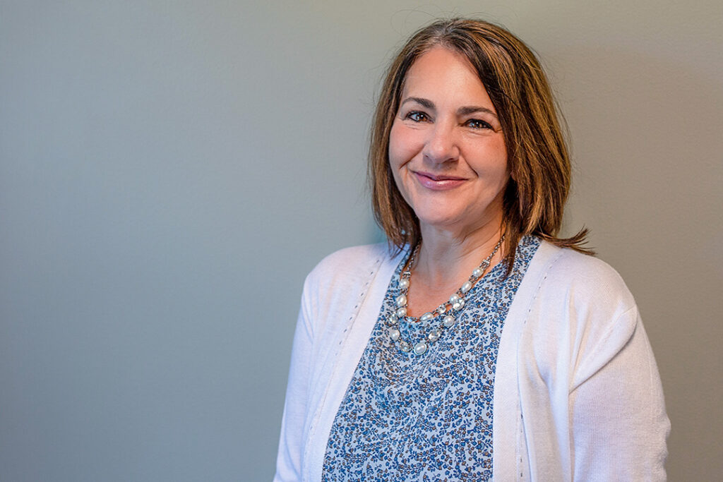 Lisa Gromer, office manager